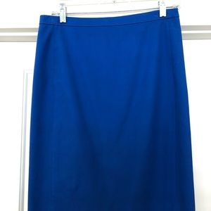 J Crew Number 2 Pencil Skirt in Stretch Cotton